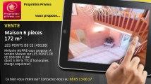 A vendre - maison - LES PONTS DE CE (49130) - 6 pièces - 172m²