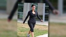 Les Kardashian au studio de Tracy Anderson pour un entraînement éreintant