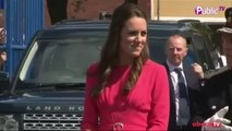 Exclu Vidéo : Kate Middleton : elle s'est affichée ce matin toujours aussi belle mais trop mince... Inquiétant !