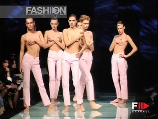 """""""Gianfranco Ferré Spring Summer 1997 Topmodels Topless"""" by Fashion Channel"""
