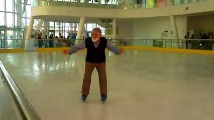 Buz Pateni Yapan 78 Yaşındaki Dede
