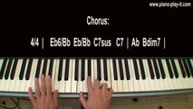 Bridge Over Troubled Water Piano Tutorial by Simon and Garfunkel