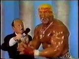 Hulk Hogan vs King Kong Bundy-WWF Title Part 1