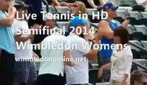 Watch Wimbledon Womens Semifinal Kvitova vs Safarova Tennis