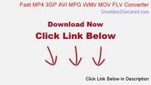 Fast MP4 3GP AVI MPG WMV MOV FLV Converter Full (Instant Download 2014)