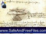 Download Leonardo da Vinci Art Screensavers Wallpapers Backgrounds 4a Serial Key Generator Free