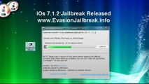 NEW Jailbreak 7.1.2 Untethered iOS 7.1.2 Evasion iPhone 5S,5C,4S,4,iPod Touch 5 & iPad Mini 2, Air,4,3
