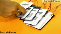 How to design Linear Barcodes with Code39 and EAN13 fonts on same labels
