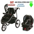 Clearance Graco Fastaction Fold Click Connect Jogger Travel System Stroller - Road Runner Review