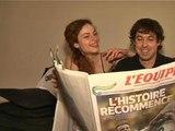 France-Allemagne: les couples franco-allemands et le quart de finale - 04/07