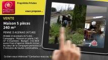 A vendre - maison - PENNE D AGENAIS (47140) - 5 pièces - 240m²