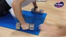 Fitness - Musculation : Comment bien faire des pompes sur des haltères