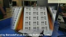 Printing Barcode labels using Laser and Thermal printer