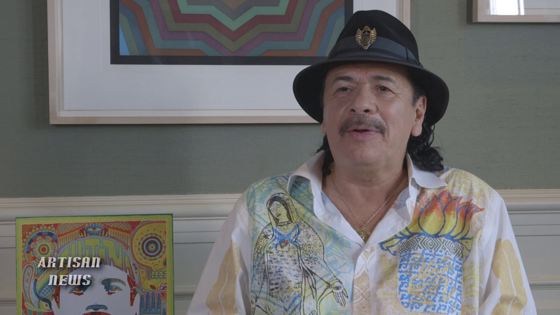 WOODSTOCK 45TH ANNIVERSARY, CARLOS SANTANA ASKED IF LESSONS LOST
