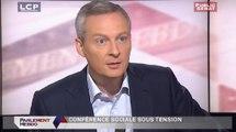 Parlement Hebdo : Bruno Le Maire, député UMP de l'Eure, ancien ministre