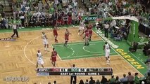 Throwback  Derrick Rose vs Rajon Rondo Duel Highlights 2009 Playoffs R1G1 Bulls at Celtics - SICK