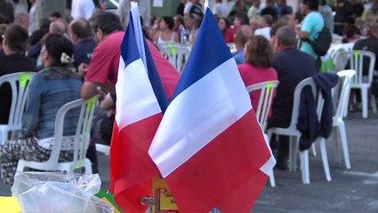 France-Equateur sur grand écran à Biver