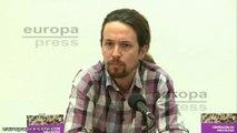 Pablo Iglesias enumera medios públicos partidistas