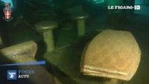 Costa Concordia : de nouvelles images sous-marines du paquebot