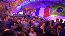 France-Allemagne : ambiance dans un bar de Lille