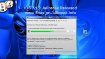 Guide How To iOS 7.1.2 JAILBREAK Untethered evasion released for iPhone iPad iPod