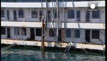 Dans les entrailles du Costa Concordia
