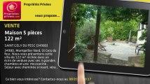 A vendre - maison - SAINT GELY DU FESC (34980) - 5 pièces - 122m²