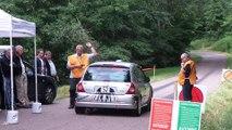 Rallye de la Côte Roannaise 2014 - Départ ES 1