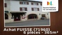 A vendre - Immeuble - FUISSE (71960) - 6 pièces - 365m²