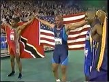 Olympic Games 2000 Sydney - Athletics 100m Mens Final  - Maurice Greene Gold & World Record
