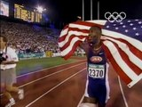 Olympic Games 1996 Atlanta - Athletics 200m Mens Final - Michael Johnson Gold & World Record