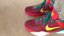 Cheap Kobe Bryant Shoes,Cheap Nike zoom kobe 7 vii supreme x yotd year of the dragon on feet
