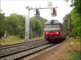 L'INTERCITES 4591, LE VENTADOUR, CLERMONT-FD à BORDEAUX, passe à DURTOL-NOHANENT, le 29.06.2014.
