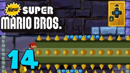 German Let's Play: New Super Mario Bros ★ #14