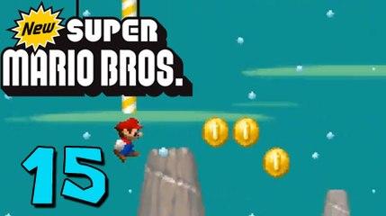 German Let's Play: New Super Mario Bros ★ #15
