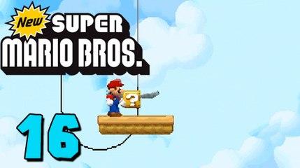 German Let's Play: New Super Mario Bros ★ #16