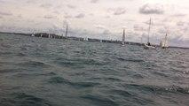 Depart du Tour des ports de la Manche