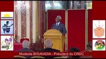 Conférence de presse SUD-CONGO: Question-Réponse 7. Questions de Monsieur Casimir KANOUKOUNOU qui demande la prise en compte des avocats congolais