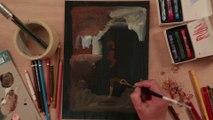 Tableauscopie # 22 « Mon dieu mais c'est un dragon... » au musée du Louvre.