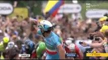 Tour de France - 2° tappa - La vittoria di Vincenzo Nibali
