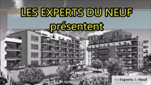 EXPERTS DU NEUF présentent une résidence neuve de standing à MONTPELLIER, éco-quartier, proximité éco-parc des Grisettes, appartement T4 neuf, 3 chambres, avec terrasse en étage (Dm)