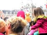 Douai- Gayant 2014-Mr et Mme Gayant dansent (giants dance)