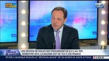 Volvo: ventes en hausse de 10% pendant le premier semestre sur le marché français, Yves Pasquier-Desvignes, dans GMB - 07/07