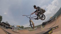 CULT BMX TEAM DESTROYS WOODWARD - BMX