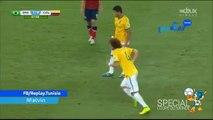 David Luiz'in Kolombiya'ya Attığı Harika Frikik Golü OhaBe.Tv