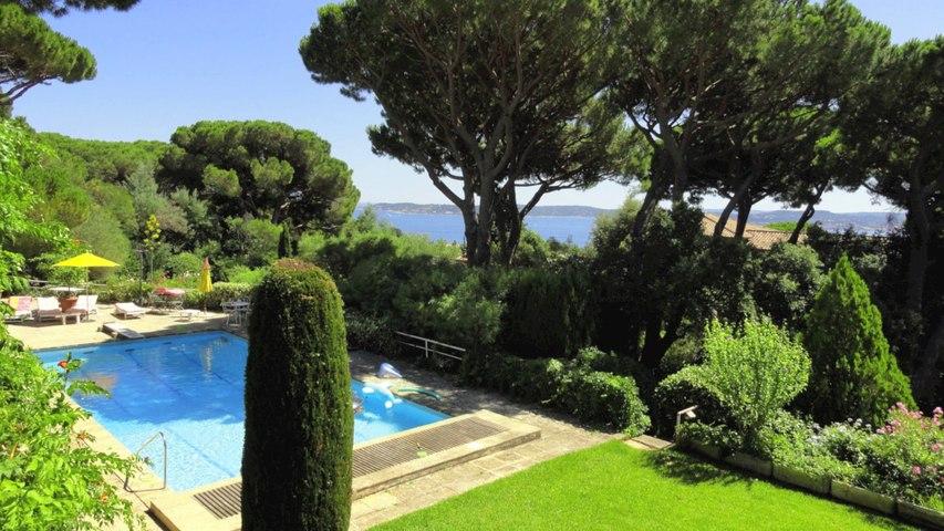 Vente VILLA Sainte-Maxime - Vue mer Golfe de Saint Tropez -