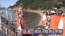 Shukan AKB Deserted Island Survival - Sayaka, Sae & Miichan Early Retire Scene