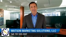 New Review for Watson Marketing Solutions, LLC Norfolk         Impressive         5 Star Review by Lori H.