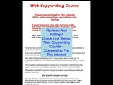 Discount on Web Copywriting Course - Copywriting For The Internet