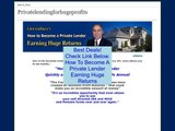 Discount on How To Become A Private Lender Earning Huge Returns